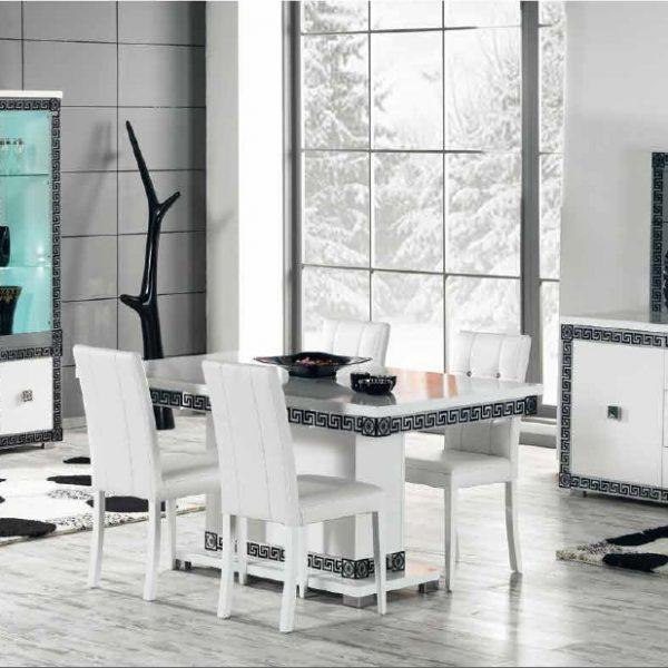 salle manger new versace nkl meuble wassa et deco. Black Bedroom Furniture Sets. Home Design Ideas