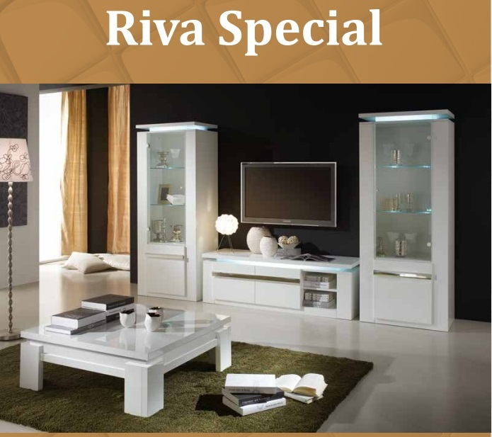 Salle a manger riva 18 meuble vitrine collection for Salle a manger but hanna