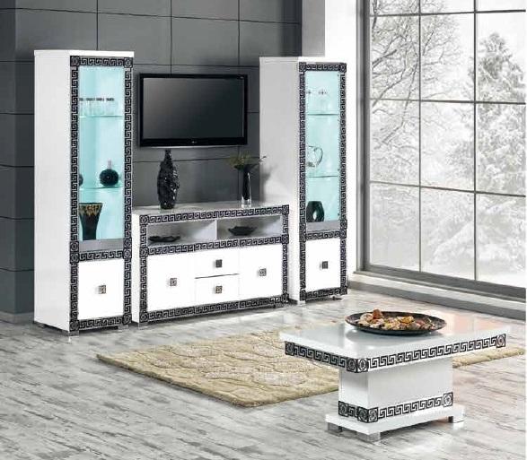 Meuble tv new versace nkl meuble wassa et deco - Meuble versace ...