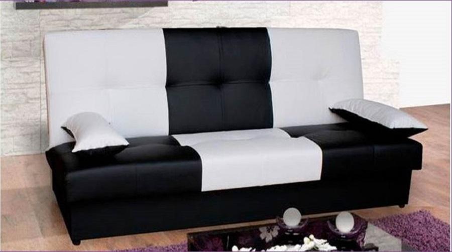 Canap convertible check nkl meuble wassa et deco - Canape 10 fois sans frais ...