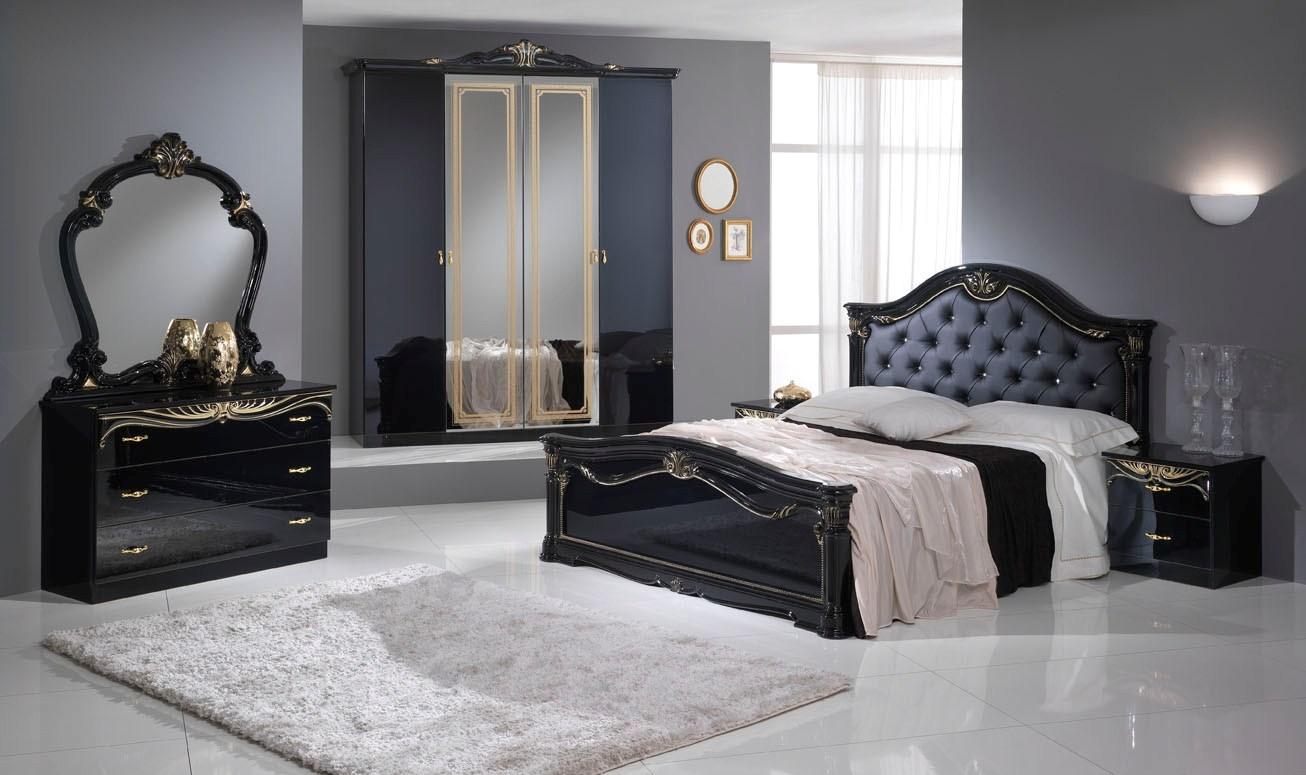 Chambre eva moins cher nkl meuble wassa et deco for Chambre design noir