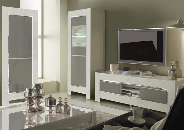 meuble tv luna nkl meuble wassa et deco. Black Bedroom Furniture Sets. Home Design Ideas
